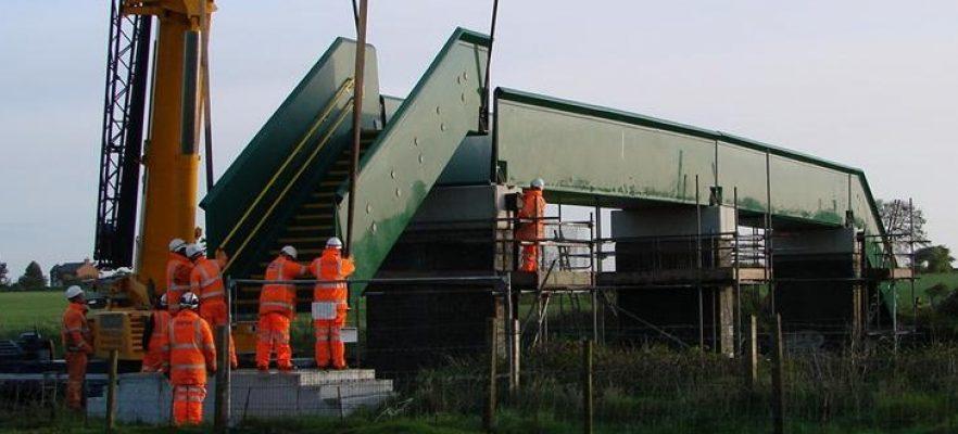 Bridges Bradkirk Bridge Installation of Bridge in less than 4 hours