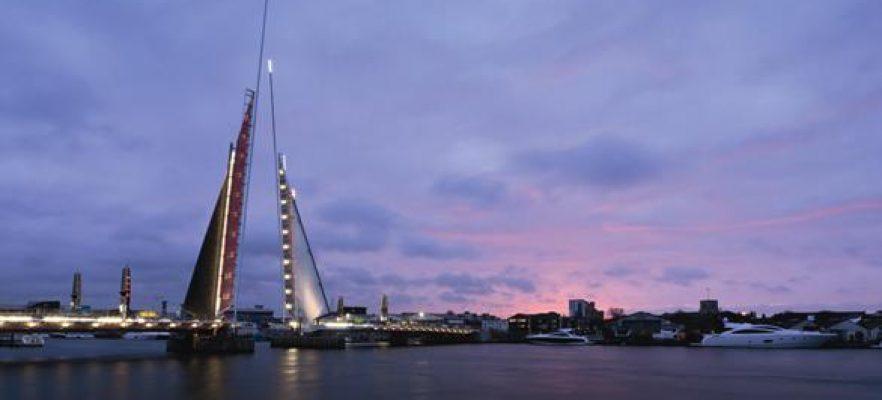 Poole Harbour Bridge Finished bridge