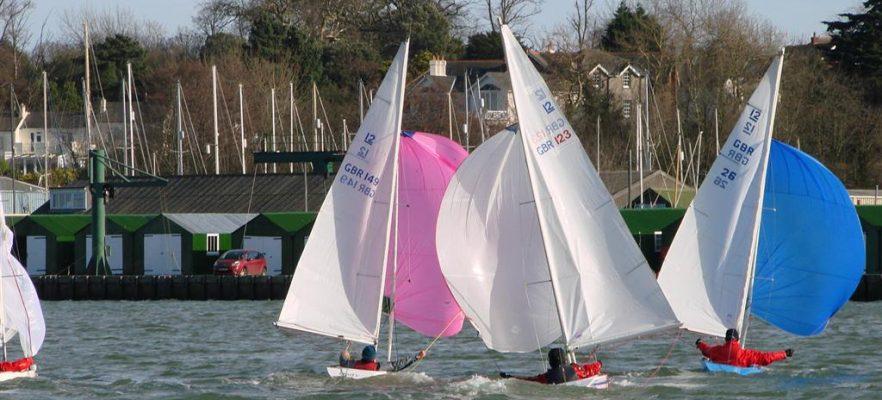 Illusion Class Downwind sailing