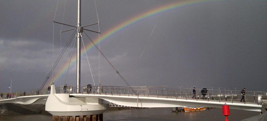 Foryd Bridge Open to the public