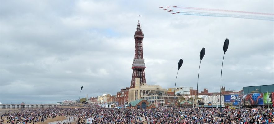 Dune Grass Blackpool 2016 Airshow